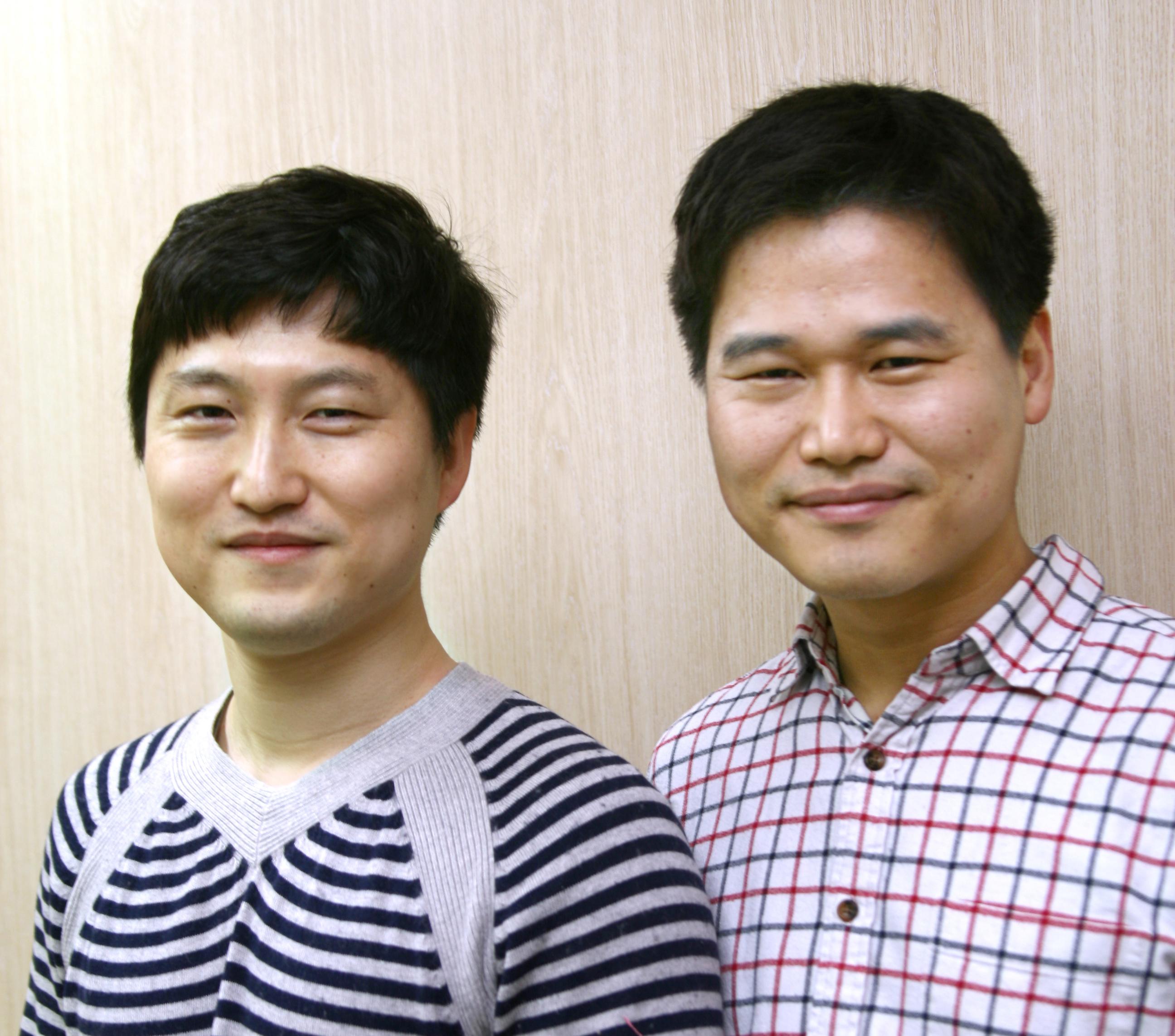 버즈니 김성국 CTO(좌), 남상협 대표이사(우)