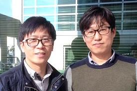 ㈜망고시스템 기술연구소 김기웅 책임연구원, 임영현 책임연구원