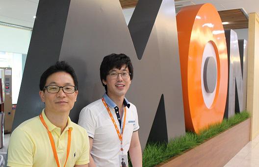 최호익 아키텍처 유닛 디렉터·배상선 시스템 유닛 팀원