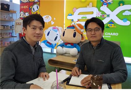 한국도로공사 통행료통합센터 통합시스템팀, 송시조 대리, 신용선 차장