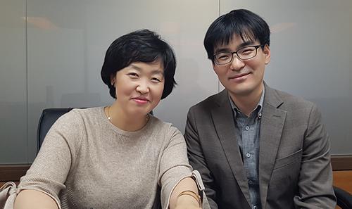 정보기획과 홍소영 서기관, 최성준 주무관