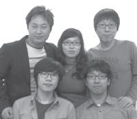 필자 안병현, 진성주, 변현규, 김진영, 임선용