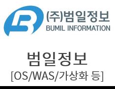 범일정보 [데이터관리/WAS/WEB서버/운영체제(OS)/가상화]