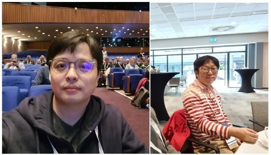 SASM 개발을 주도한 삼성전자 김대선 프로(사진 왼쪽)과 김선학 프로